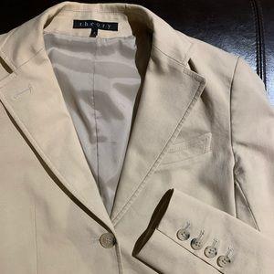 Theory cotton blazer